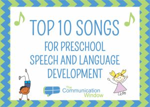 Top 10 Songs for Preschool Speech. Repinned by SOS Inc. Resources pinterest.com/sostherapy/.