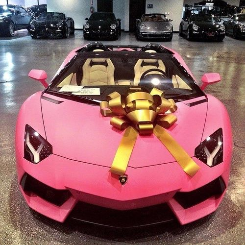lisa you choose at this price i dont want to get wrong - Lamborghini Aventador J Pink