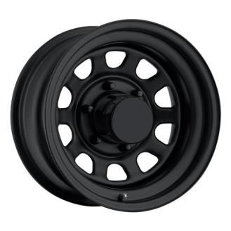 Pro Comp Steel Wheels - Series 52 Rock Crawler - Flat Black Steel Wheel | 4WheelParts.com