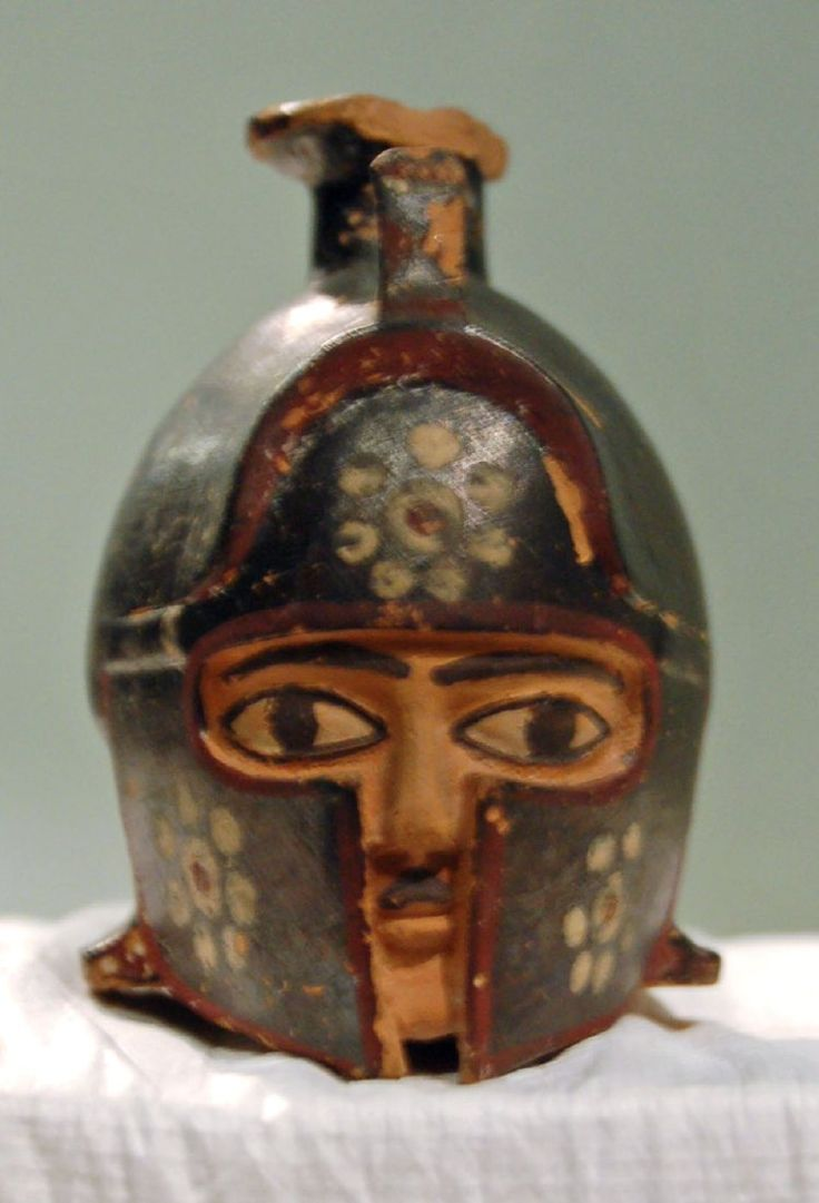 Perfume Bottle c. 580 BC Rhodian (Greek) The British Museum