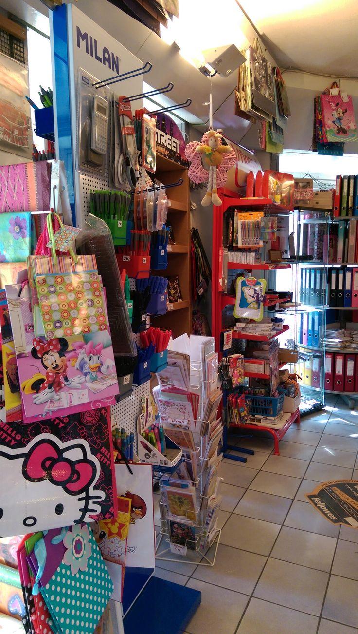 Inside - BA-RA Stationery shop