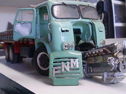 Mini Linha de Montagem FNM - Etapa atual: Finalização - www.e-voo.com