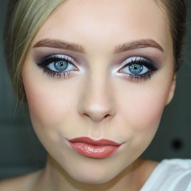 Simple To Dramatic Bridal Makeup Look Used Urban Decay 2 Palette Tease In