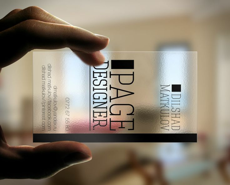 22 best clear plastic business cards images on pinterest plastic buy clean transparent business card by arphotography on graphicriver fbccfo Gallery