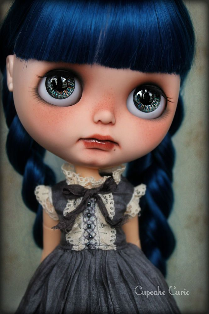 Custom OOAK Blythe ART Doll - Twilight- by Cupcake Curio