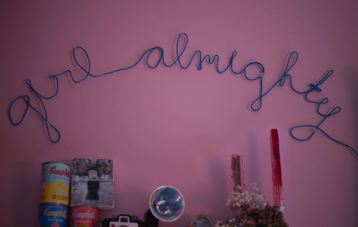 DIY neon sign on the cheap