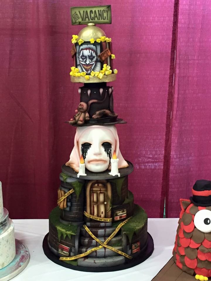 Cake American Horror Story Bday Party Pinterest