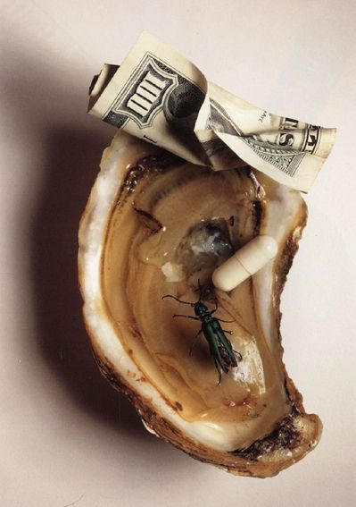 Aphrodisiacs, editorial photograph for Vogue, New York, April 18, 1997
