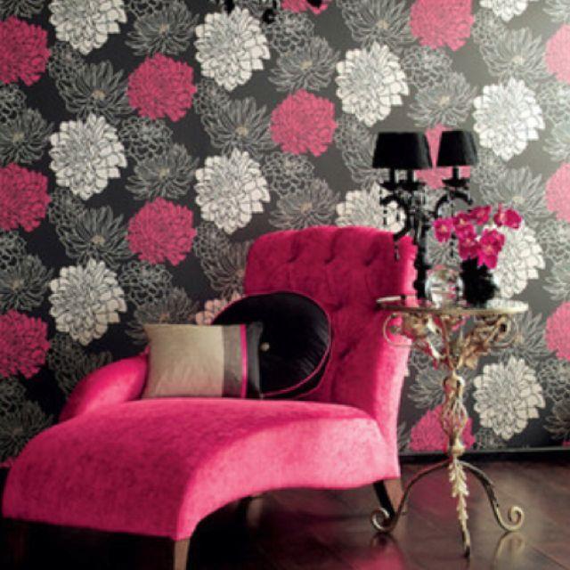 Poppy Wallpaper Home Interior Best 25 Flowery Wallpaper Ideas On Pinterest  Flowery Background .