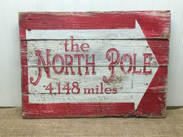 Get this customized sign with the calculated distance from any address to the center of the North Pole. Get the kids excited to see how far Santa travels each year to see them from the wintry wonderland where he lives. 18x14  Due to the handmade nature of each sign, there may be slight variations. Please include the following in the message to seller section of your order: - zip code, exact address, OR city, state from which you want distance calculated to the North Pole Mrs. Sasquatchs…
