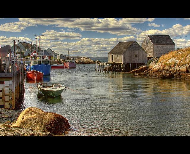 Peggys Cove, Nova Scotia, Canada; you need to experience this; check!