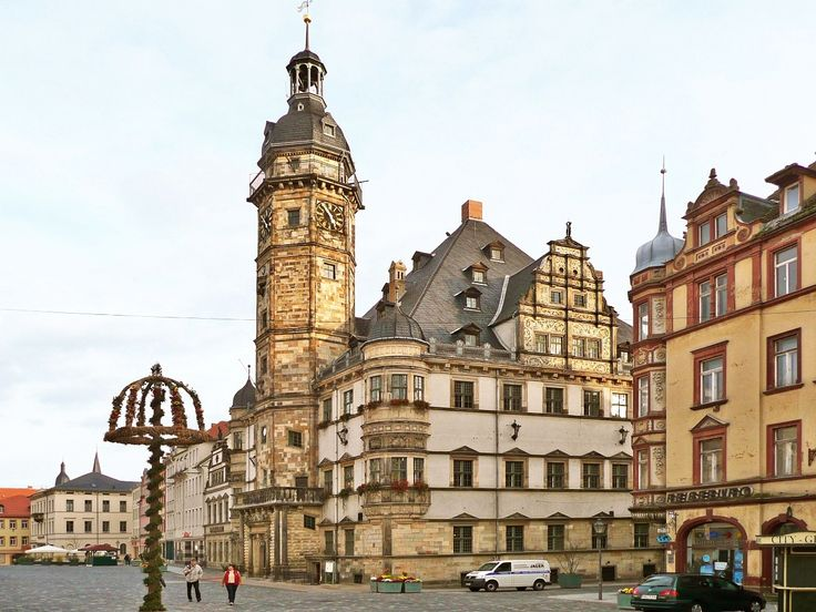 Town Halls At Altenburg Germany