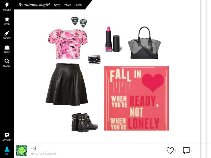 I designed this on the polyvore app!