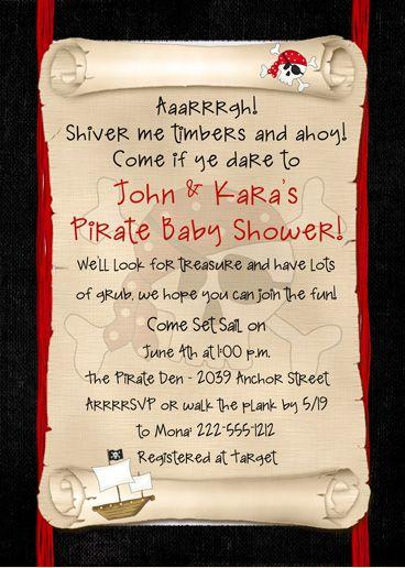 25+ best Pirate Invitations trending ideas on Pinterest ...