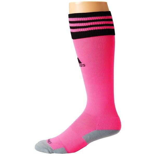 adidas Copa Zone Cushion II Soccer Sock Knee High Socks (€11) ❤ liked on Polyvore featuring intimates, hosiery, socks, moisture wicking socks, crew socks, nylon socks, knee socks and nylon knee high socks