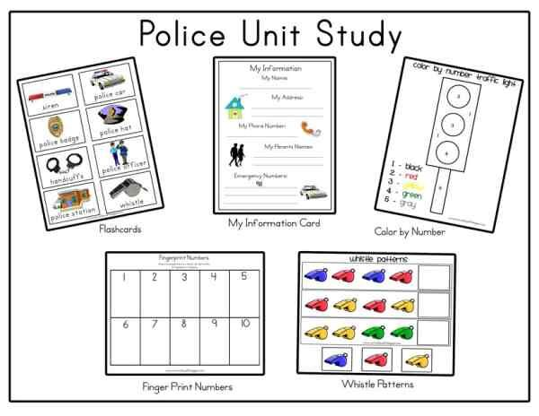 May 11-17, 2014 is National Police Week! National Tell a Police Officer Thank You Day is in September! Here are some great police crafts and activities you can do with the kids! These crafts are gr…