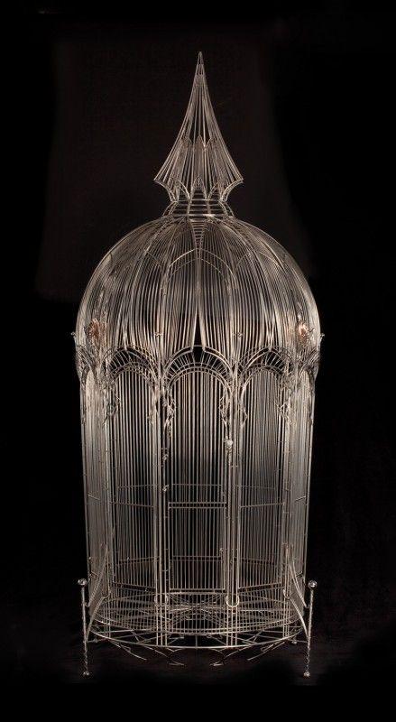 Gothic Spiral Birdcage- Joe Diemer