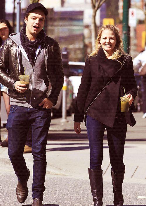 Jennifer Morrison & Sebastian Stan | JENNIFER/LANA | Pinterest