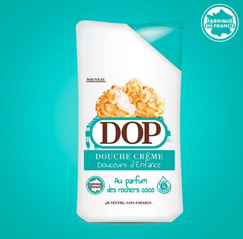 Douche Crème au parfum des Rochers Coco dop