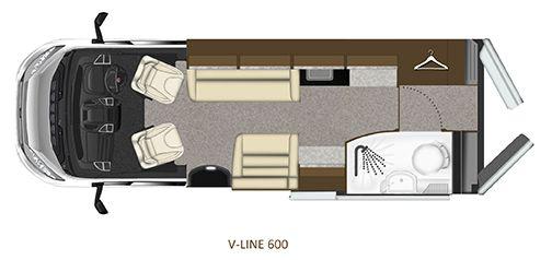 V-Line 600-SPORT Floorplan