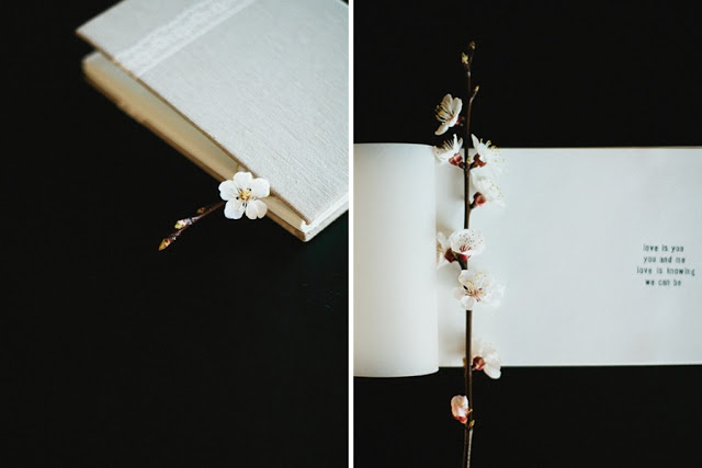 Wedding lace notebook by Ara Marvin