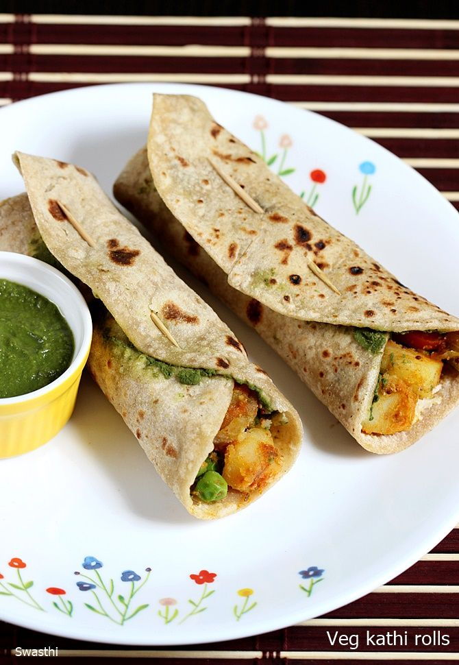 Kathi rolls recipe – Healthy lunch, brunch or breakfast recipe. Kati rolls are a common street food in many parts of India. We can find these in fast food chains, restaurants and even on the streets stalls. Kathi rolls originated from the streets of kolkota and were made of grilled meat kababs rolled in paratha. …