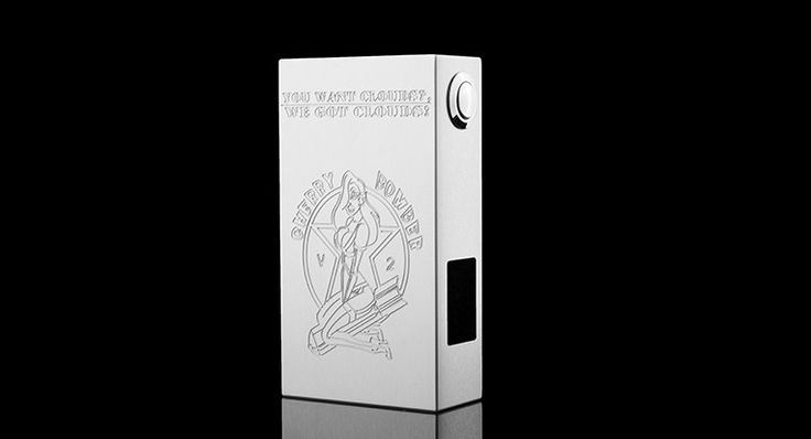 Cherry Bomber V2 Dual 18650 Series & Parallel Switch Box Mod