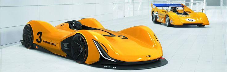 Revival of McLaren Can-Am of Hochschule Pforzheim.