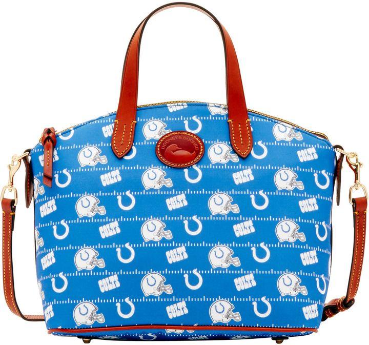 Dooney & Bourke NFL Colts Small Gabriella Top Handle Bag