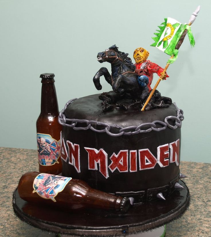 Cake Design Iron Maiden