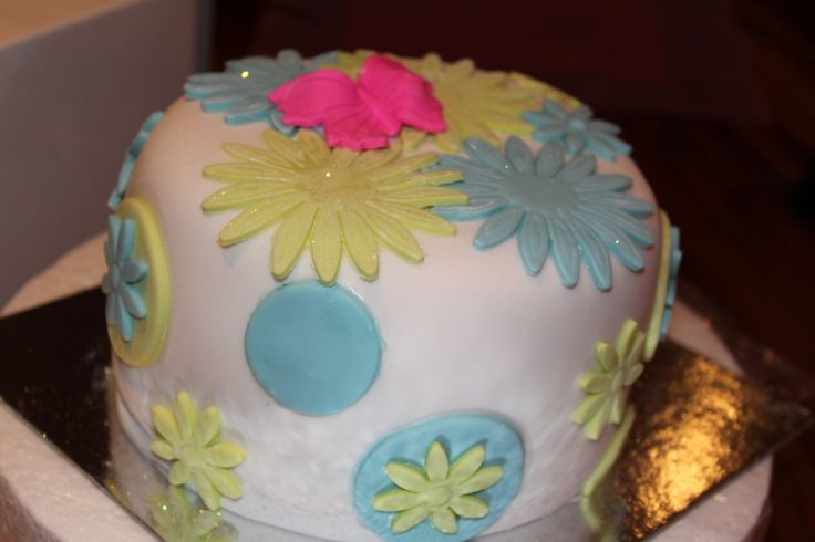 Just a small happy b-day cake