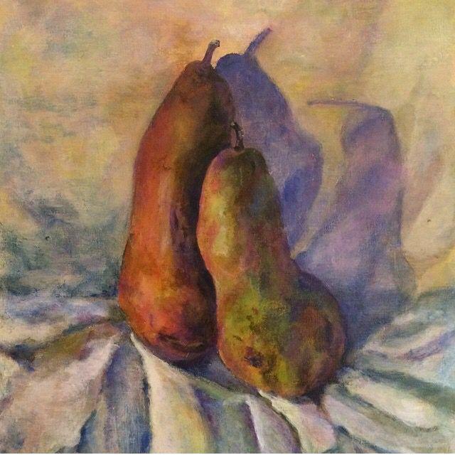 Fruits. Food. Acrylic.