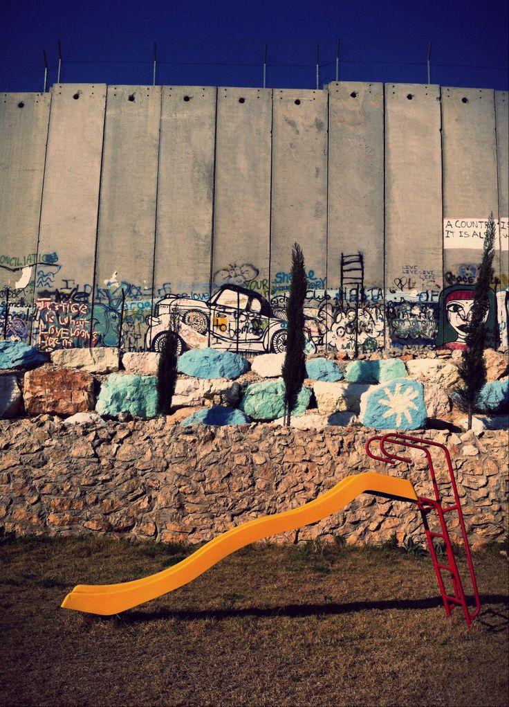 The Wall in Bethlehem Palestine