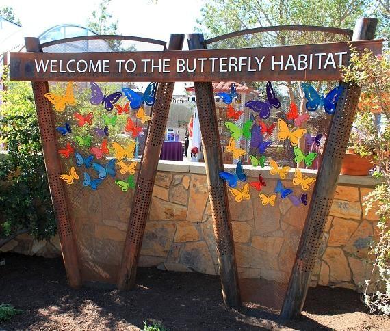 Fall Butterfly Habitat Flutters Back To The Springs Preserve Seasonal Habitat Opens Daily From 10 A M 3 P M Starting September 14 Butterfly Habitat Habitats Blue Morpho Butterfly