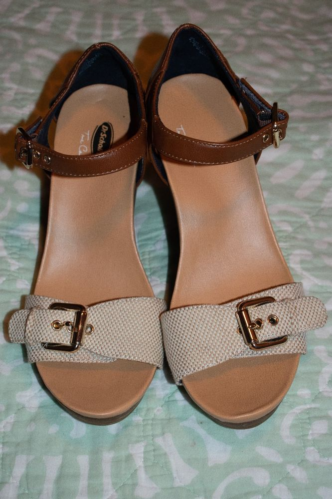 0cae9112fefd Dr Scholls tan brown wedges sandals heels size 6.5  fashion  clothing   shoes  accessories  womensshoes  sandals (ebay link)
