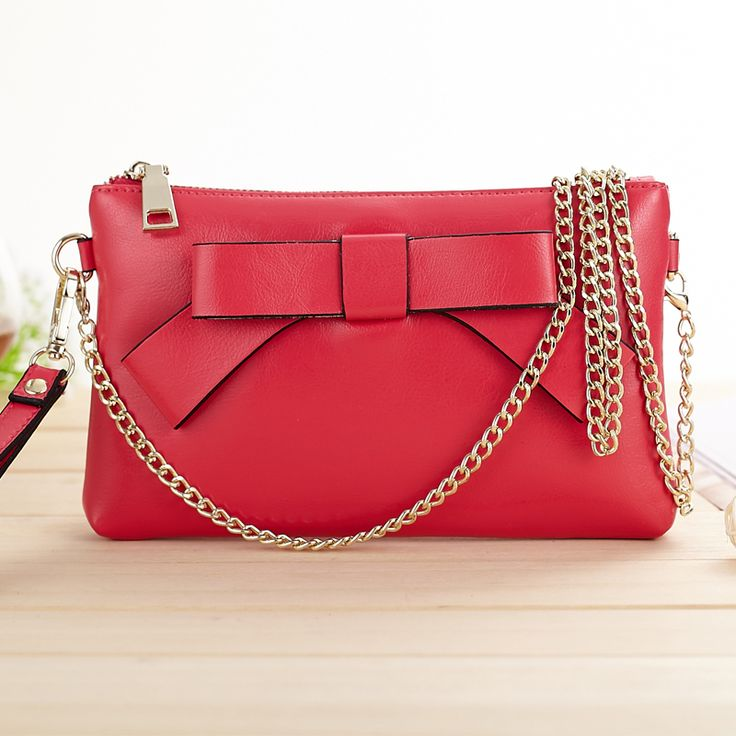 Aliexpress.com: Comprar Día de la mujer embrague bolsos moda suave piel de vacuno del Vintage arco del bolso HL968 de bolso del mensajero del bolso fiable proveedores en MELOVO Store