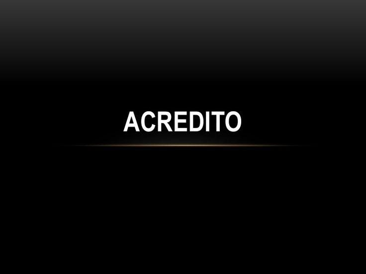ACREDITO