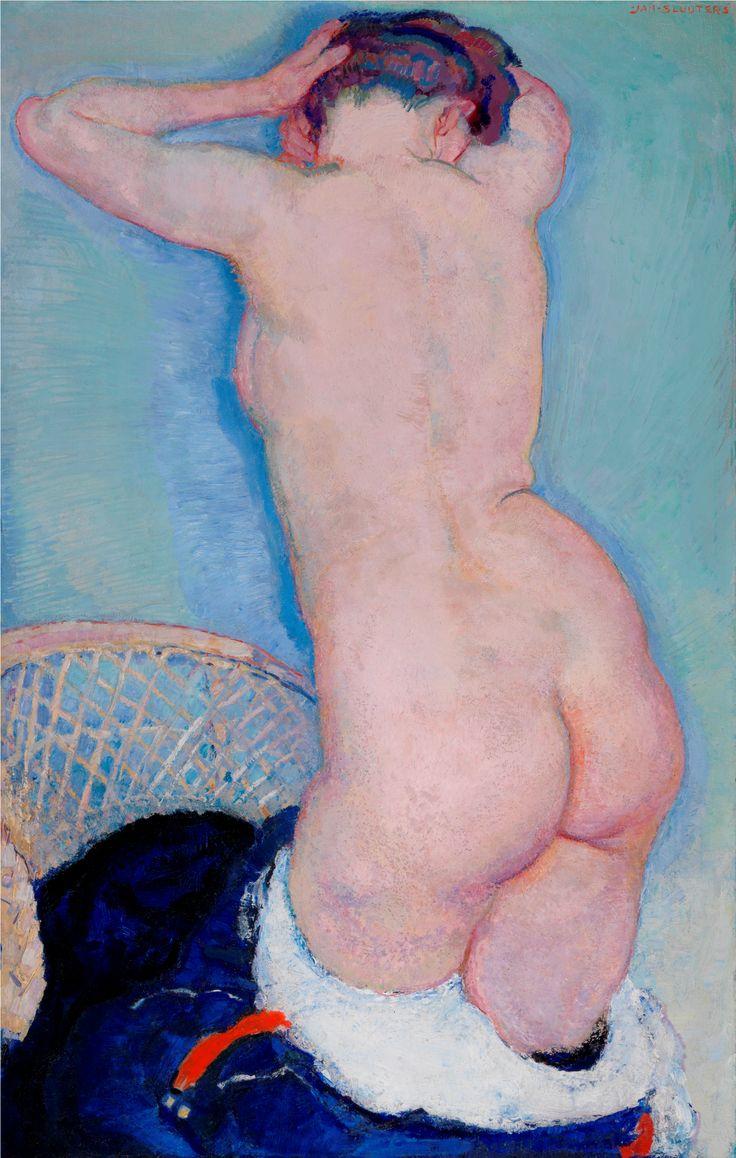 Leo Gestel, Staand naakt