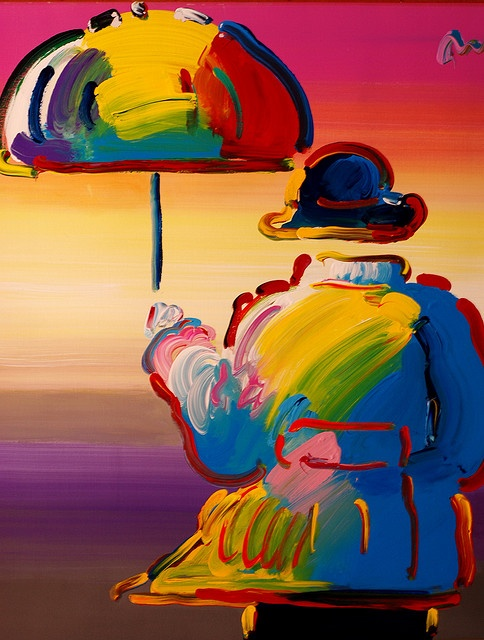 Peter Max- I want this. Would be a great birthday gift!