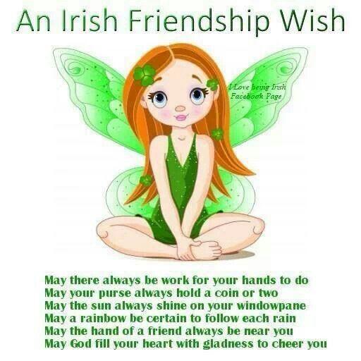 Irish Friendship Wish
