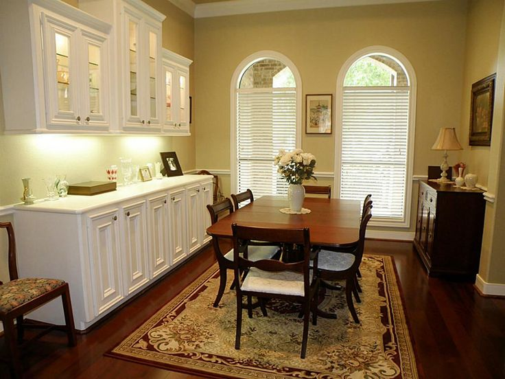 Dining Room Built In Buffet