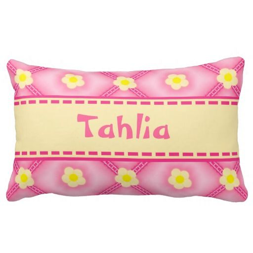 http://www.zazzle.com.au/cream_flowers_pink_ribbons_lace_puff_quilt-189206003469370136?rf=238523064604734277 Cream Flowers Pink Ribbons Lace Puff Quilt - This throw pillow cushion features a pink puff quilted look with cream coloured flowers along with pink frilly lace and ribbons. There's a big ribbon running through the middle to place your baby girls name.