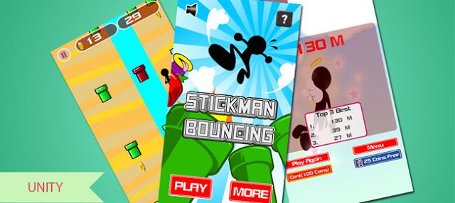Download Source Code Reskin Game Unity Stickman Bouncing
