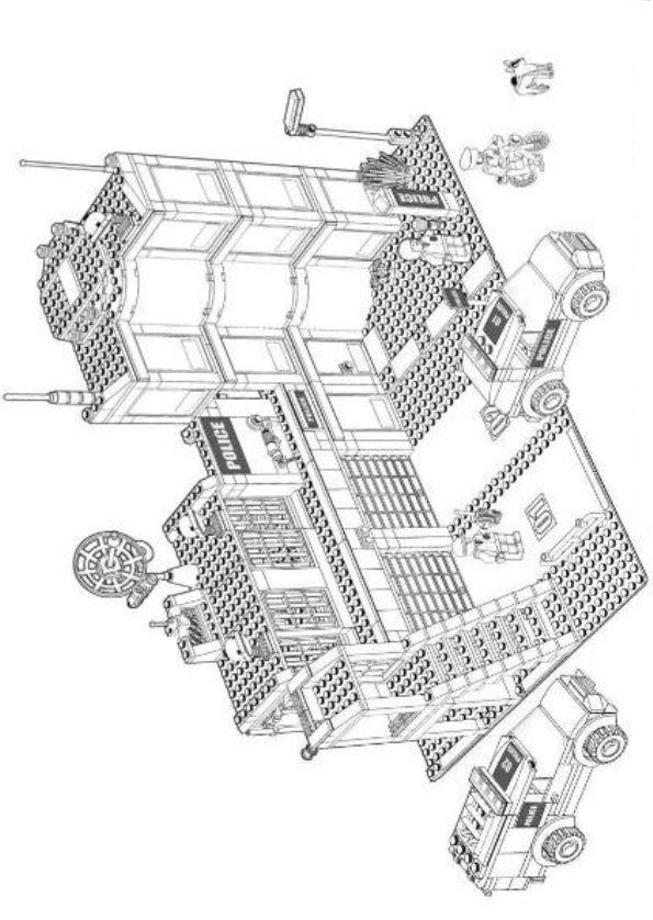 Malvorlagen Lego City Bilder Zum Ausmalen | Kinder basteln ...
