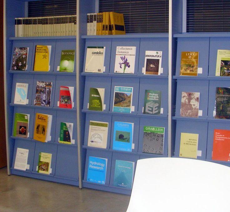 Sección de revistas