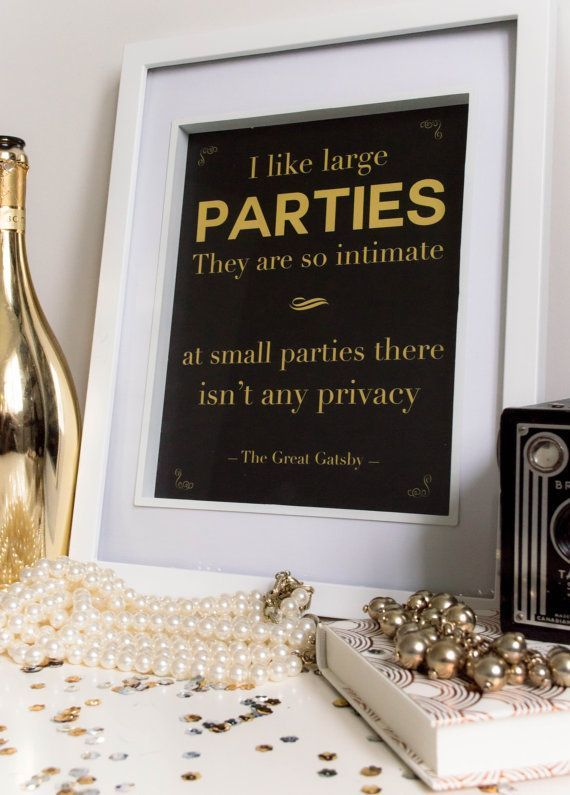 gatsby party quotes - photo #14