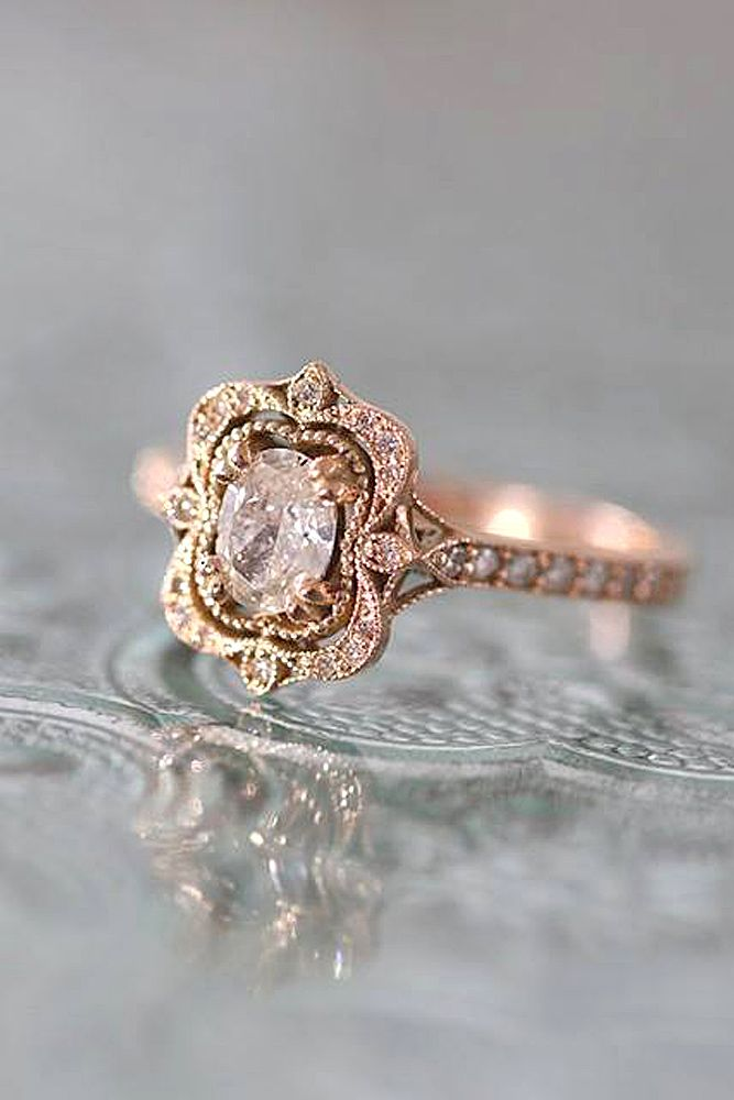 Best 25 vintage style rings ideas on pinterest tourmaline ring 24 oval engagement rings as a way to get more sparkle junglespirit Image collections