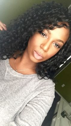 Image result for crochet braids with freetress deep twist hair