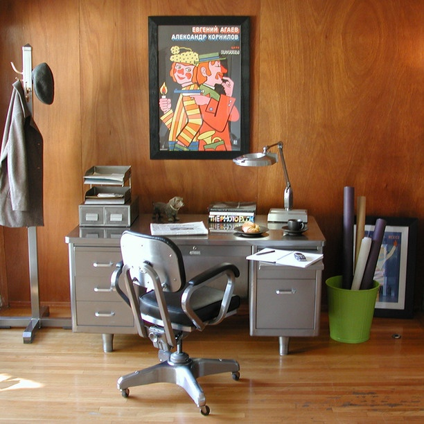 Best 25 Tanker Desk Ideas On Pinterest Metal Desk