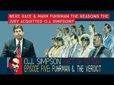 O.J. Simpson: Fact or Fiction? Episode 5: Impact of Mark Fuhrman & Race ...